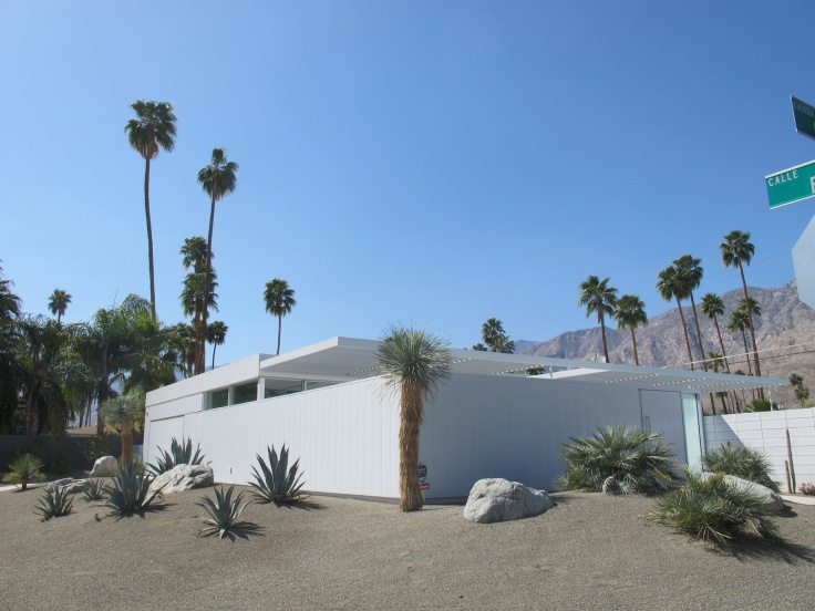 Villa moderniste à Palm Springs