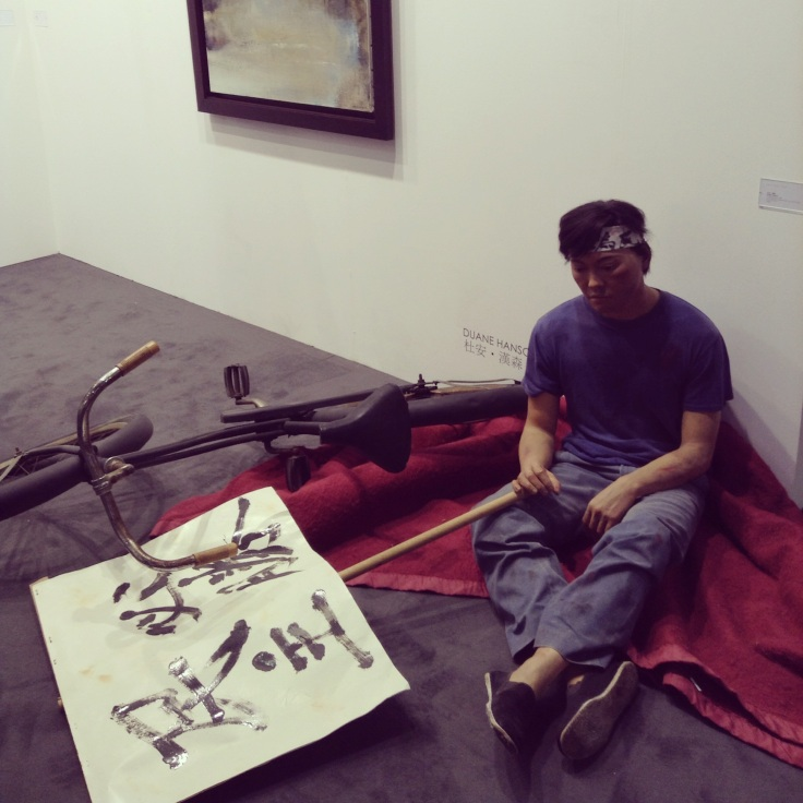 Duane Hanson,, Chinese Student, Van de Weghe Fine Art