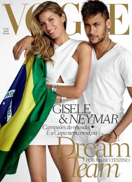Vogue Gisèle mai 2014