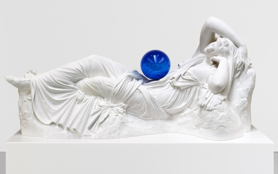 Jeff Koons  - Gazing Ball Adriadne 2013