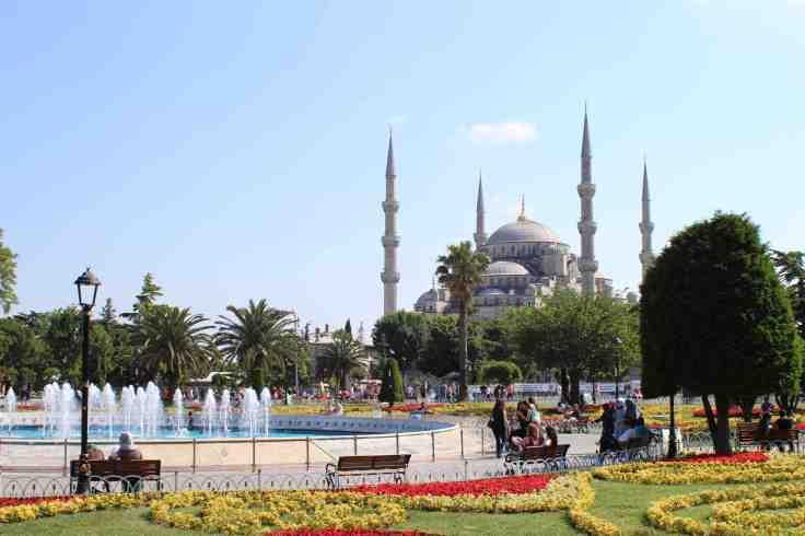 Le centre historique d'Istanbul et la basilique Sainte Sophie, Photo : Frederic Dumas